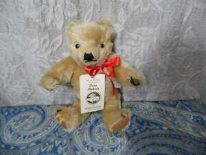 Merrythought Pure Mohair LE Growler Teddy Bear SIGNED NWT
