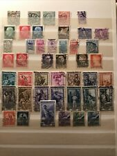 Collection Of Old Italy Postage Stamps Kingdom And Republic