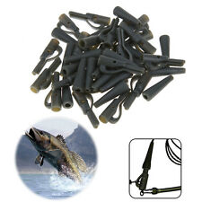 20 Sets Safety Lead Clips Carp With Pins Rubber Tube Fishing Tackle Accessories&