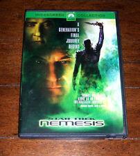 DVD: Star Trek: Nemesis Widescreen Movie Film Next Generation Picard Riker Troi