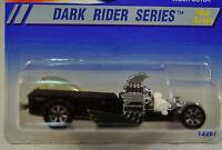 Hot Wheels Dark Rider Series 4 Rigor-Motor Car 1995 13287 300 7SP New Skull Cof