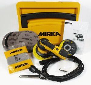 MIRKA DEROS 5650CV Elektro Exzenterschleifer 125 & 150mm 5mm Hub im Systainer
