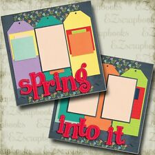 EZ Layout 2397 NORTH POLE Premade Scrapbook Pages