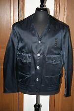 Men's Law Enforcement Jacket Coat 42R EUC NO LINER! Midnight Blue Security