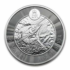 2017 1 oz Cayman Islands Marlin Silver Coin (BU)