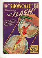 Showcase #14 4TH APP The FLASH! VG/F 5.0 KEY BOOK! 1958 ORIGIN DR. ALCHEMY