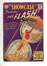Showcase #14 4TH APP The FLASH! VG/F 5.0 KEY BOOK! 1958 ORIGIN DR. ALCHEMY