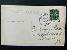 MANILA 1910, Postmarked / Cancellation stamped Post Card