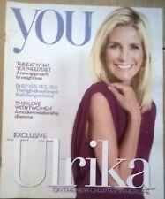You Magazine 21 August 2011,UK, Ulrika Jonsson, Shingai Shoniwa, Jodie Prenger