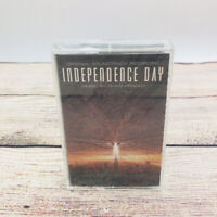 New Independence Day Movie Soundtrack Film Score 1996 Cassette Tape Sealed 90's