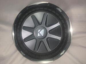 "KICKER CompVX 12"" 10CVX122 1500W 12 Inch Comp VX Dual 2-Ohm Car Subwoofer"