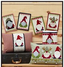 Holly Jolly Gnomes Pattern by The Whole Country Caboodle