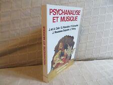 psychanalyse et musique confluents psychanalytiques les belles lettres