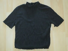 Women's Size 8 Black Cropped Top From Top Shop