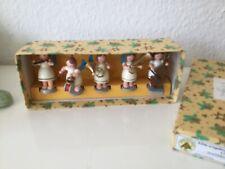 Erzgebirge Dregeno 5 Engel Musikengel Weihnachten 5,5 cm