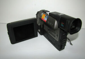 Sony DCR-TRV95 CCD-TRV99 LCD Screen and Lateral Function Panel Repair PART