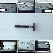 Vintage 1978 Gillette Super Adjustable Long Handle Safety Razor Y 2