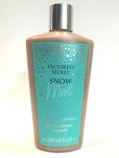 LOT 1 VICTORIA'S SECRET SNOW MINT HYDRATING HAND BODY LOTION 8.4 FL OZ GANACHE