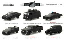 BLACK BANDIT SERIES 18,SET OF 6 CARS 1/64 DIECAST MODEL CARS BY GREENLIGHT 27930