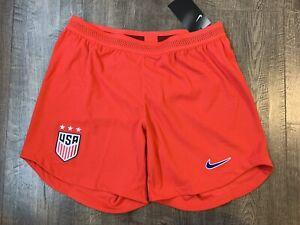 Nike Women's US Soccer 2019 US Away Vaporknit Match Shorts Small S CJ6038-688