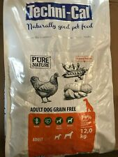 "TECHNI-CAL. ""PURE NATURE"" DOG ADULT GRAIN FREE. 12kg BAGS. DOG FOOD/FEED"