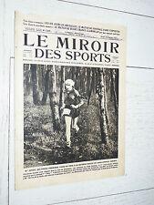 MIROIR SPORTS 1923 N°137 FOOTBALL PARIS-GUIPUZCOA RIMET CROSS 6 JOURS BRUXELLES