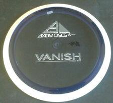Axiom Proton VANISH Disc Golf 157 G Distance Driver Purple White Rim