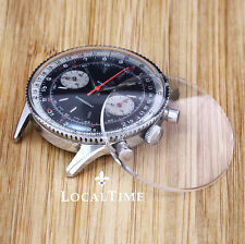 NEW Low Domed Plexi Glass for BREITLING Chronomat Ref. 808 Chronograph Watches