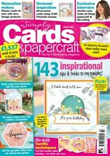 Simply Cards & Papercraft Magazine 180 & Songbird Blossoms Die, Folder & Stamps
