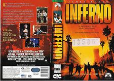 INFERNO (1998) vhs ex noleggio
