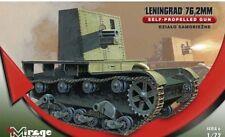 Mirage Hobby Models 1/72 WWII Leningrad Soviet Mobile Infantry Artillery KIT NEW