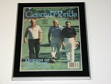 Arnold Palmer, Jack Nicklaus, Gary Player Legends of the Game Golf Photo Plaque