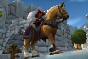 WoW Mount Goldmähnes Zügel Reittier World of Warcraft