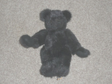 "Handmade Black Bear by Oma New Castle , Indiana 13"" Felt paws MINT"