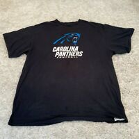 Vintage NFL Mens T Shirt XL Black Carolina Panthers USA Football Pro Sports Tee