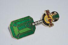 "Hard Rock Cafe - Vintage HRC Las Vegas ""Emerald Gem"" Guitar Pin, Ltd Edition 500"