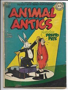 Animal Antics #1 1946  DC Golden Age Comic Book