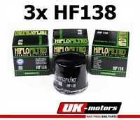3x Hiflo Ölfilter HF138 HIFLO