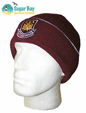 WEST HAM UNITED FOOTBALL CLUB Beanie Hat Official Licensed Product Adult
