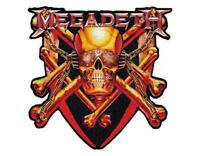 OFFICIAL LICENSED - MEGADETH - KILLING IS MY BUSINESS WOVEN VINYL PATCH METAL