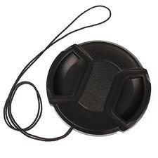 62mm Center Pinch Snap Front Cap For DC DV DSLR SLR all Camera Camcorder Pentax