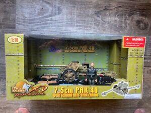 Ultimate Soldier 7.5cm PAK 40 WW2 German Anti Tank Cannon 1:18 NEW rare camo