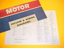 1975 1976 CADILLAC ELDORADO CONVERTIBLE DEVILLE SEVILLE VACUUM+WIRING DIAGRAMS