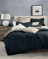 Hotel Collection Linen Navy Full/Queen Duvet Cover Bedding