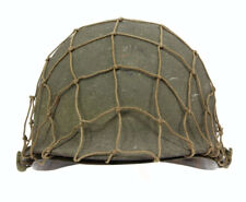 Casque US pattes mobiles camouflé ! US ARMY WW2  (matériel original)