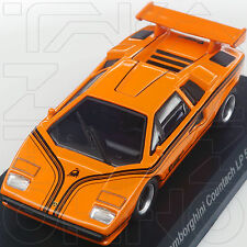 LAMBORGHINI COUNTACH LP500R MINICAR COLLECTION 6 KYOSHO 1:64 ORANGE ARANCIA