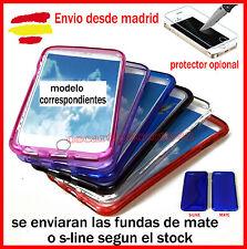 FUNDA Silicona Gel Tpu Mate Para Nokia lumia N640(Protector opcional)