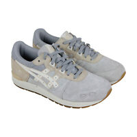 Asics Gel Lyte Mens Gray Suede Low Top Lace Up Sneakers Shoes
