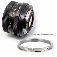 M42 Lens To Pentax PK K Mount Adapter Ring Focus Infinity M42-PK