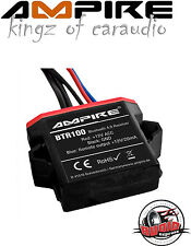 Ampire BTR100 Adaptateur Bluetooth 4.0 audio RCA BT 12V voiture à distance